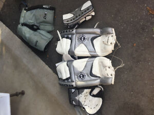 32 Inch Koho Goalie Pads, Blocker, Catcher and Pants