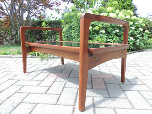 Teak coffee table, mid century modern coffee table. London Ontario image 8