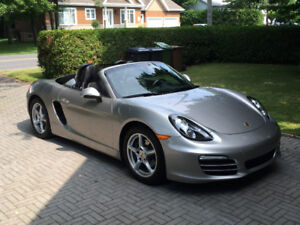 2013 Porsche Boxster Silver full equip Cabriolet