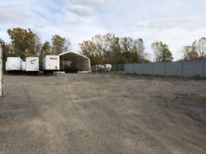 Exterior storage available for RV, Boats, Trailers, etc...