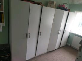 wardrobe x 2