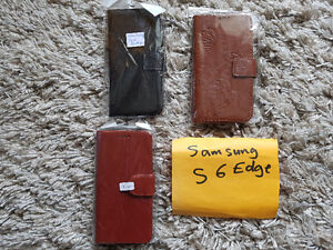 Samsung Galaxy S6 Edge Leather Flip Cover Cases