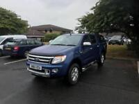 2015 65 PLATE FORD RANGER LIMITED 4X4 2.2 DIESEL MANUAL