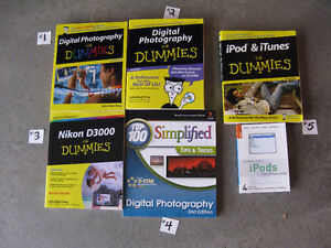 Photography Books – BRAND NEW!!  $5 each Windsor Region Ontario image 1
