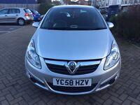 Vauxhall Corsa 1.2 excellent drive (58 Reg ) service history HPI clear