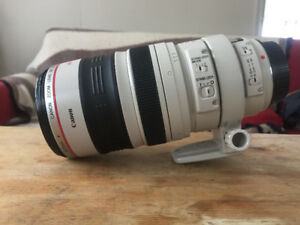 Canon 100 400mm IS lens