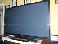 """62"""" LG Plasma HDTV"""