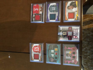 2017 In The Game Used Hockey Card Lot.  Patches, short prints