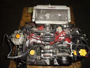 JDM SUBARU IMPREZA STI GC8 EJ20 TURBO ENGINE, 5SPEED TRANSMISSIO