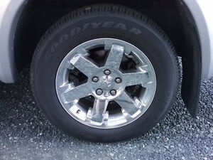 "Ram 1500 20"" RIMS AND Tires"