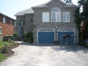 Basement apartment available in desirable south ajax