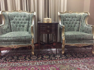2 Decorative Living Room Chairs