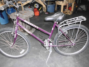 Ladies or Teen 18 speed,Like New lots of options.Great shape!
