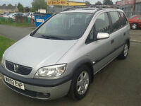 2003 Vauxhalll Zafira 1.8i 16v ( JUST £850 ono TO CLEAR )