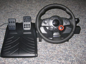 Logitech Driving Force GT ((PC/PS1/PS2/PS3/PS4 COMAPTIBILITY))