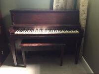 Petit Piano d'appartement à vendre