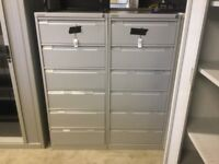 Bisley 6 drawer index cabinet