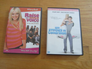 2 DVDs: 2 Hillary Duff Movies (french & english)