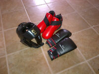 BOXING,TAE KWON DO /GLOVES,MASK,SHOES BRAND NEW