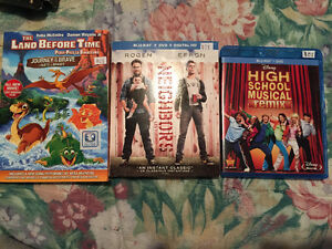 Neighbors / high school musical/ The land before time