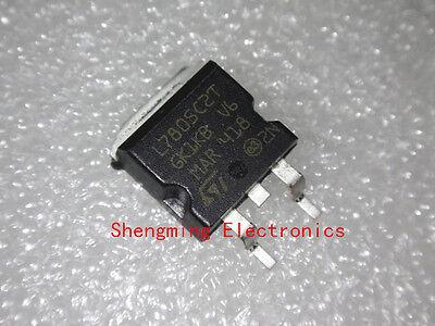 10pcs Smd L7805c2t L7805 To-263
