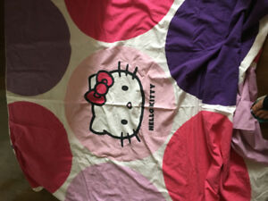 Hello kitty duvet cover