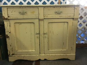 Antique kitchen hutch in the same family for over 100 years!