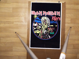 iron maiden killers poster
