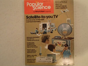Vintage Popular Science Magazine March 1978 GC
