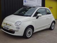 2012 (12) Fiat 500 1.2 Lounge £30 road tax
