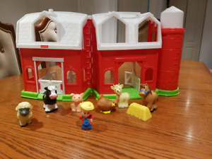 Fisher Price the Little People Farm Ferme des animaux