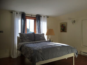 Furnished house in N section of Brossard!
