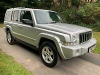 2007 Jeep Commander 3.0 CRD Limited 5dr Auto ESTATE Diesel Automatic
