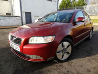 2010 Volvo S40 1.6D DRIVe S - 12 Service Stamps 87000mls - KMT Cars