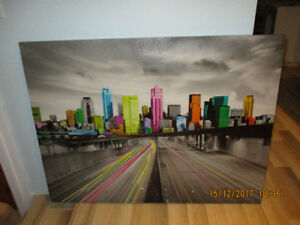 Canvas city picture