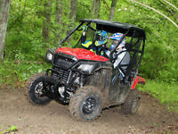Eldridge's Honda Pioneer 500 sxs in stock