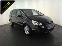2012 FORD S-MAX TITANIUM TDCI 7 SEATER MPV 1 OWNER SERVICE HISTORY FINANCE PX
