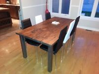 Kitchen table from The artisan