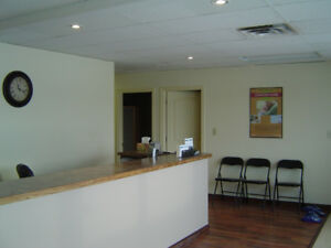 Office lease at main street Moose Jaw