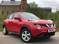 2015 15 NISSAN JUKE 1.6 VISIA ( VAT QUALIFYING ) BUY FROM £45 PER WEEK