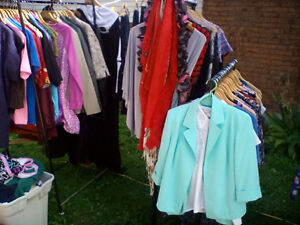 clothing for sale ladys an some mens shirts
