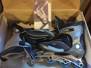Women's K2 Cadence LS Rollerblades and Firefly Guards