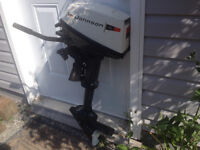 4 hp outboard johnson