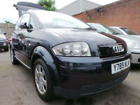 2001 Audi A2 1.4 Petrol 5 Door Hatchback Genuine 50,000 miles PX TO CLEAR