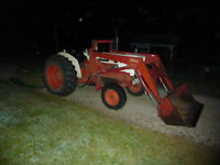 1975 David Brown 990 Farm Tractor