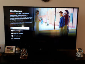 "58"" Samsung smart tv only 2 years old"
