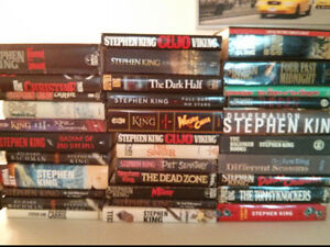 Stephen King hardcover books $5 each