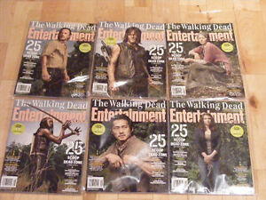 Walking Dead entertainment weekly magazines