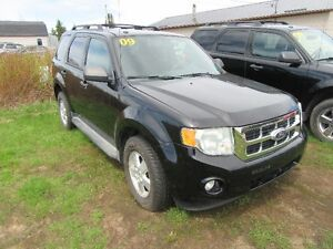 2009 Ford Escape XLT SUV, AWD  3.0 L V6