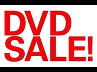 Just Under 100 DVDS for sale... Ranging from $1 to $5...